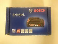 BOSCH GBA18V 2.0AH M-B COOL PACK BATTERY BNIB BATTERY INDICATOR *FAST DESPATCH*