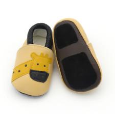 Giraffe Soft Sole Leather Baby Infant Toddler Boys Shoes Prewalker Size 0,1,2
