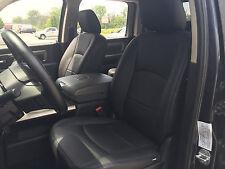 2013 2014 2015 2016 2017 DODGE RAM CREW CAB BLACK KATZKIN LEATHER INT SEAT COVER