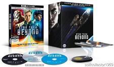 Star Trek Beyond 4K + 3D Gift Set Blu-ray   4K Ultra HD + Blu-ray 3D + Ultrav