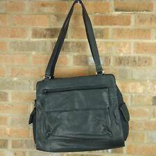 Women's Fossil Leather Handbag Purse Black