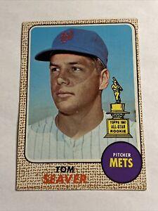 1968 Topps  - 1967 All-Star Rookie - TOM SEAVER -  #45