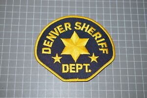 Denver Colorado Sheriff Department Patch (B17-A5)