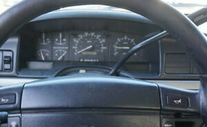 Ford F-150, F-250, F-350: 1987 - 1996, Speedomer - Instrument Cluste, WITH TACH