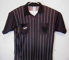 278296a5a Official Sports Black Soccer Referee Short Sleeve Jersey Shirt - Size X-  Large