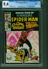 Marvel Team-Up Annual 6 CGC 9.4 NM white New Mutants  Marvel Comics 1983