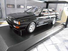 AUDI Quattro Coupe MKI 10V schwarz black 1980 NEW NEU Minichamps Diecast  1:18