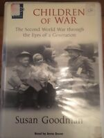 CHILDREN OF WAR AUDIO BOOK CASSETTE TAPES BOX SET - Ex Rental - SUSAN GOODMAN