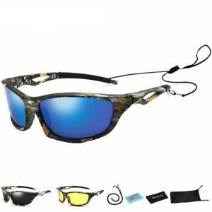 Camouflage Polarized Fishing Glasses Men Cycling Hiking Driving UV400 Sunglasses