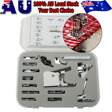 15pcs Presser Foot Feet Kit For Domestic Low Shank Sewing Machines Set AU