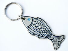 Fish Keychain Christian Ichthus Keyring Made in Holy Land Jesus Miracles Galilee