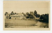 Kineowatha Camps RPPC Wilton Maine Antique Photo ca. 1925