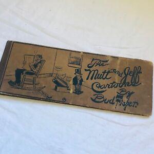 Mutt and Jeff Cartoons 1911 by Bud Fisher Comic Cartoon Long Book #1 Rare
