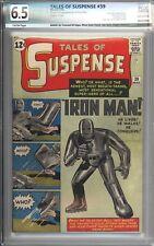 Tales of Suspense #39 PGX 6.5 Beautiful Higher Grade 1st App of Iron Man 1963