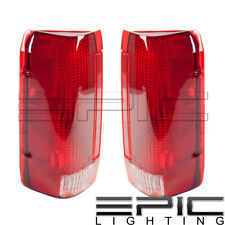 Left Right Pair Rear Brake Tail Lamps for 1990-1996 FORD F150 F250 F350 BRONCO