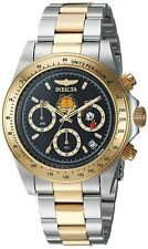 Invicta 24890 Character Collection Men's 39.5mm Two-Tone Steel Black Dial Watch