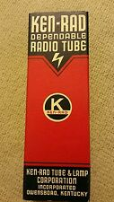 Ken-rad radio tube 56 vacuum tube