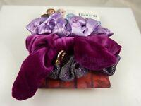 Disney Frozen 2 scrunchies Shades of purples True to self