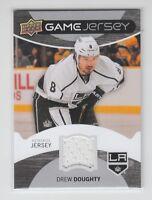 (63979) 2012-13 UPPER DECK DREW DOUGHTY GAME JERSEY #GJ-DD