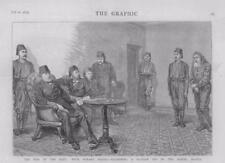 1877 Antique Print - ROMANIA SULINA HOBART PASHA KONAK EXAM RUSSIAN SPY  (22A)