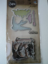 TIM HOLTZ FRAMELITS WITH STAMPS LOVE YOU SET BNIP *LOOK*