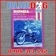 Honda XL250 XL350 1972 - 1976 72-76 Haynes Workshop Manual 970209