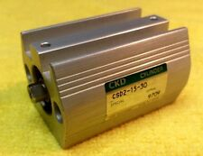 Ckd Csd2-15-30 Pneumatic Cylinder Bore 15 mm Stroke 30mm Ports M5 New