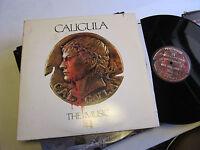 CALIGULA the music 2 lp original 1980 soundtrack penthouse prokofiev gatefold!!