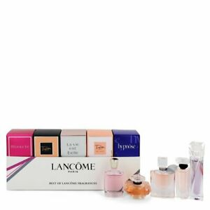 LANCOME Paris ( The Best Of Lancome Fragrances) 5 Pcs Miniature Gift Set (Women)