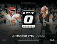 2020 Panini Donruss Optic Football *Pack* - Hobby Box PRESALE Herbert Burrow Tua