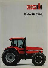 prospectus brochure tracteur CASE IH MAGNUM 7200 tractor traktor prospekt