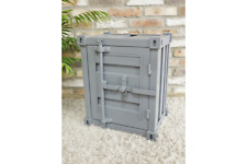 Container Bedside cabinet Grey