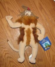 "NWT The Wizard of Oz Cowardly Lion Plush Doll Collectible Toy 12"" Nanco"
