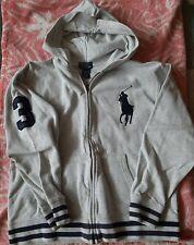 POLO Ralph Lauren zip hoodie light Grey Child size M (10-12)