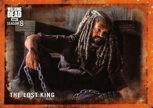 Walking Dead Season 8 Part 1 RUST PARALLEL BASE Card #66 / THE LOST KING