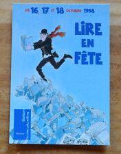 Carte postale Lire en fête 1998, illustration de Tardi