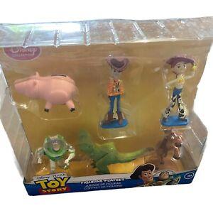 Toy Story 6 Piece Figurine Playset - NEW