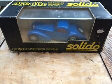 Solido Bugatti 88 Die Cast Boxed