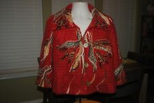 Russian wool jacket, women's, Yuko, very unusual blingy jacket, high-end quality