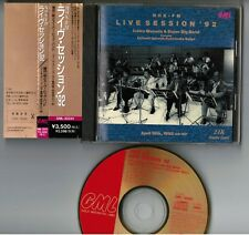 Ichiro Masuda NHK-FM Live Session '92 JAPAN 24k GOLD CD GML-30241 w/OBI+BOOKLET