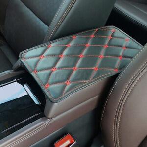 Universal'Leather Car Armrest Mat Box Center Console Pad Auto Cushion Trim Cover