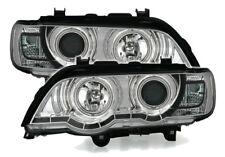 CCFL Angel Eyes Fari per BMW X5 Cromati