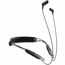 new Klipsch R6 Neckband Earbuds Bluetooth Headphone - Black Leather - 1062796