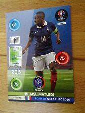Panini Adrenalyn XL Road to Uefa Euro 2016 Nr.284 Blaise Matuidi Frankreich