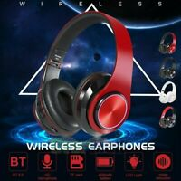 Wireless 3.5mm Gaming Headset LED Headphones Stereo Surround For PC PS4 Xbox ONE