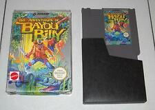 Nintendo NES 8 bit THE ADVENTURES OF BAYOU BILLY - PAL A OTTIMO ITA Box