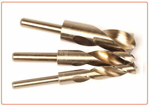 HSS Cobalt Blacksmith Drill Bit Reduced Shank Drills Metric 13.5-30mm UK SELLER