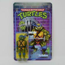 Super7 Reaction Teenage Mutant Ninja Turtles TMNT Leonardo Super 7 Action Figure