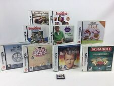Nintendo DS DS Lite 10 Game Bundle With Cases And Manuals