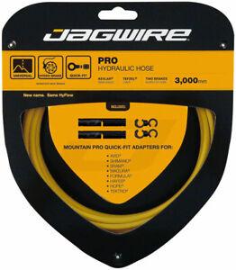 Jagwire Pro Hydraulic Disc Brake Hose Kit 3000mm, Yellow